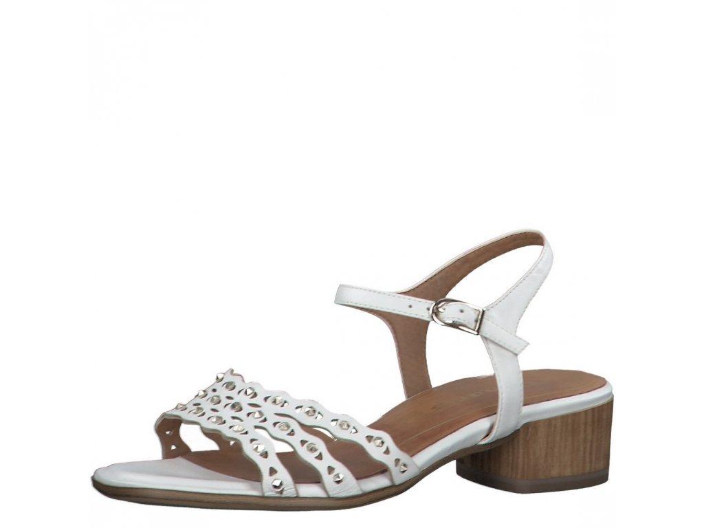 Dámské sandály Tamaris 1-28223-24 bílá jl20