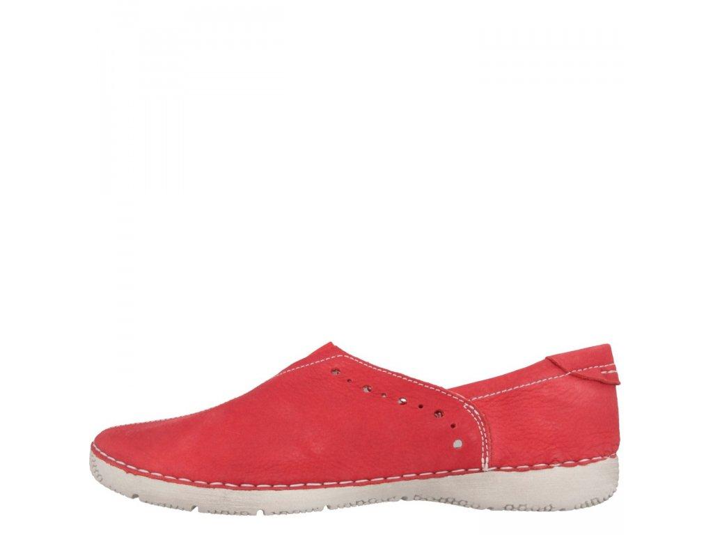 JOSEF SEIBEL Antje 03 Damen Slipper Rot Schuhe in 1
