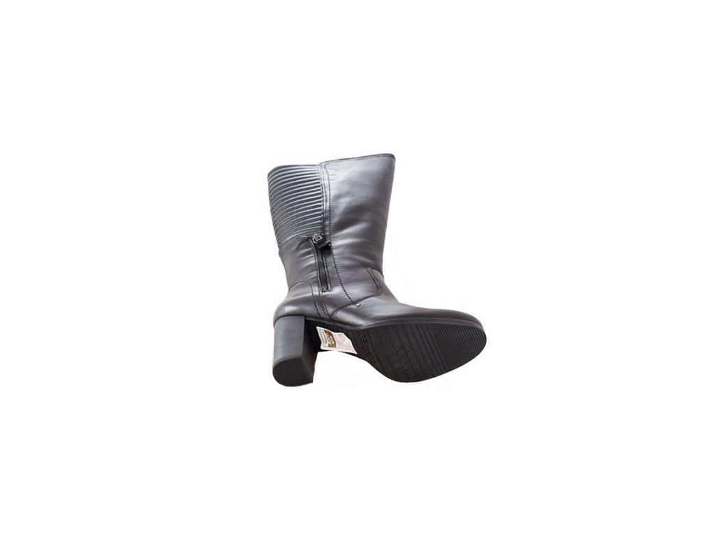 ... Tamaris-elegantní dámské kozačky na platformě 1-25550-25 černá ... 341581d0fe