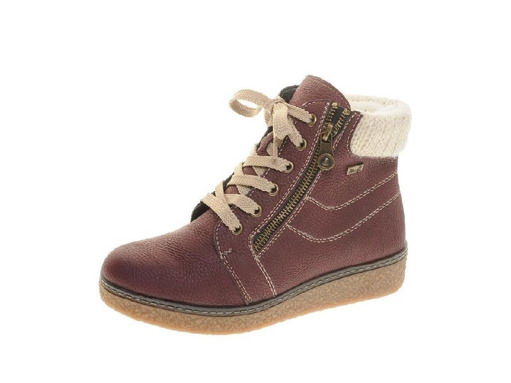Rieker-dámské kotníkové boty se šněrováním na pohodlné platformě ... 8e7f2ee6eb