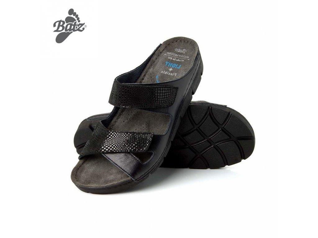 Batz dámské zdravotní pantofle Emilia Black  dc57d5de2c
