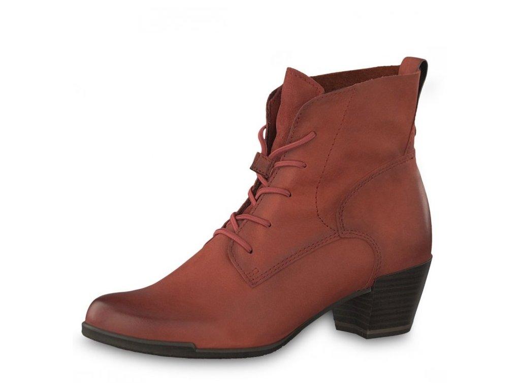 Dámská obuv Tamaris 1-25108-23/bordová p/z9