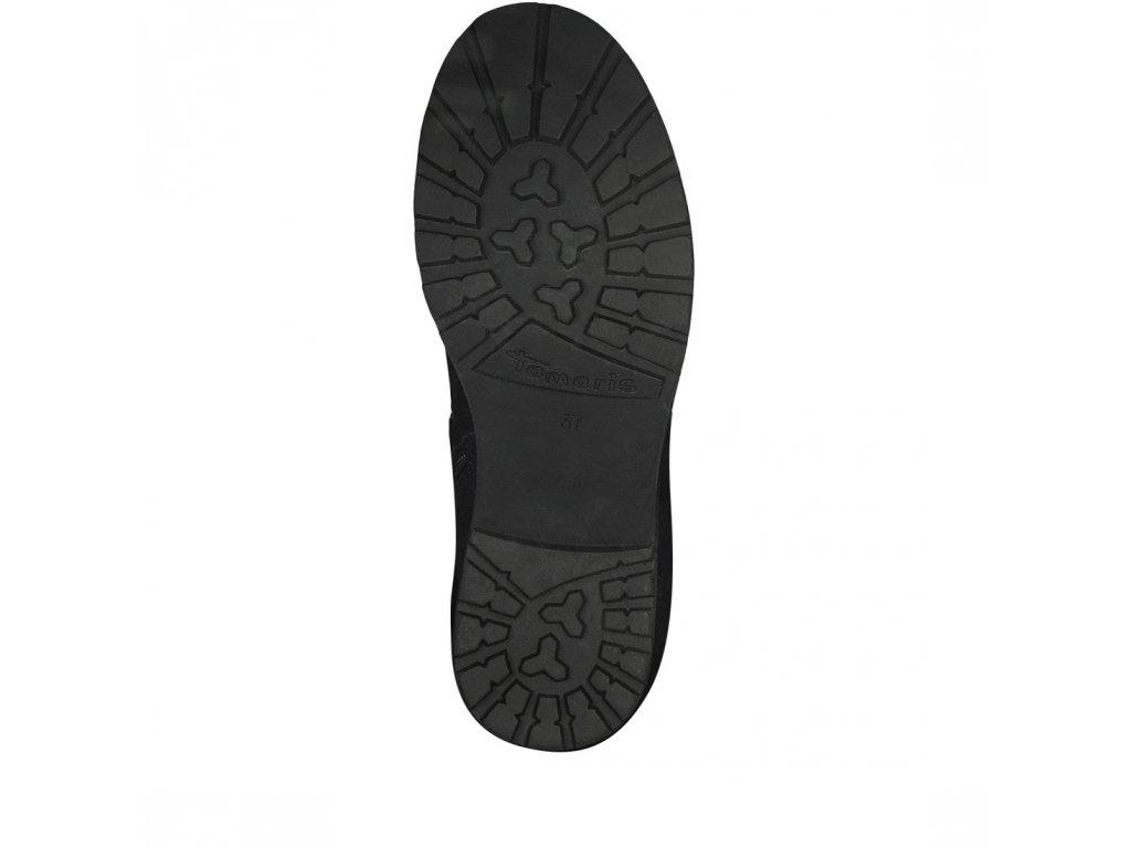 Tamaris- dámské zateplené kotníkové boty s kožíškem 1-26436-21 černá ... eac10e3a3d