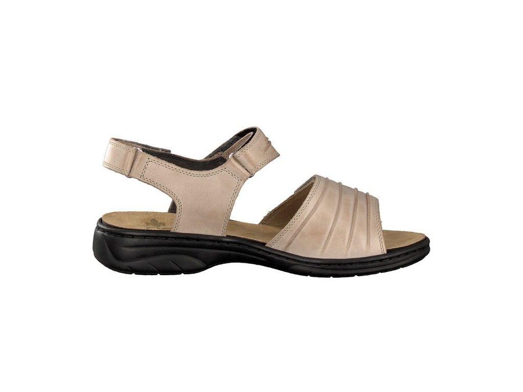 1f6b6e43d9bc Dámské sandály Rieker 64560-42 Beige j l9