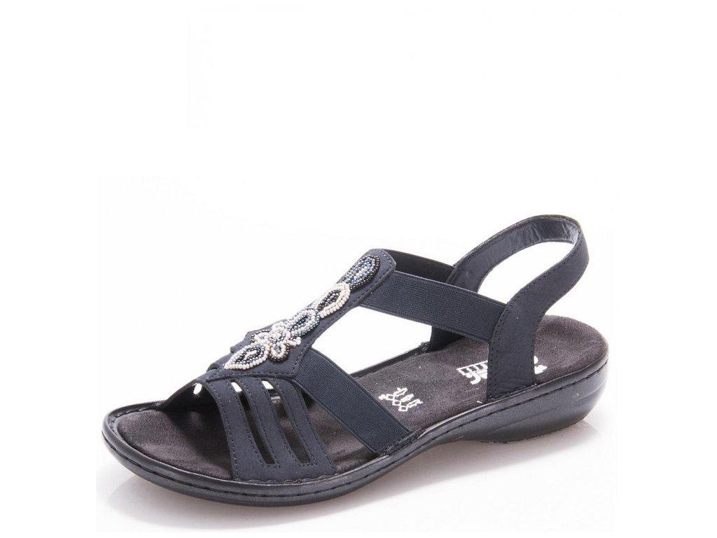 Dámské sandály Rieker 60836-14 Blue j/l9