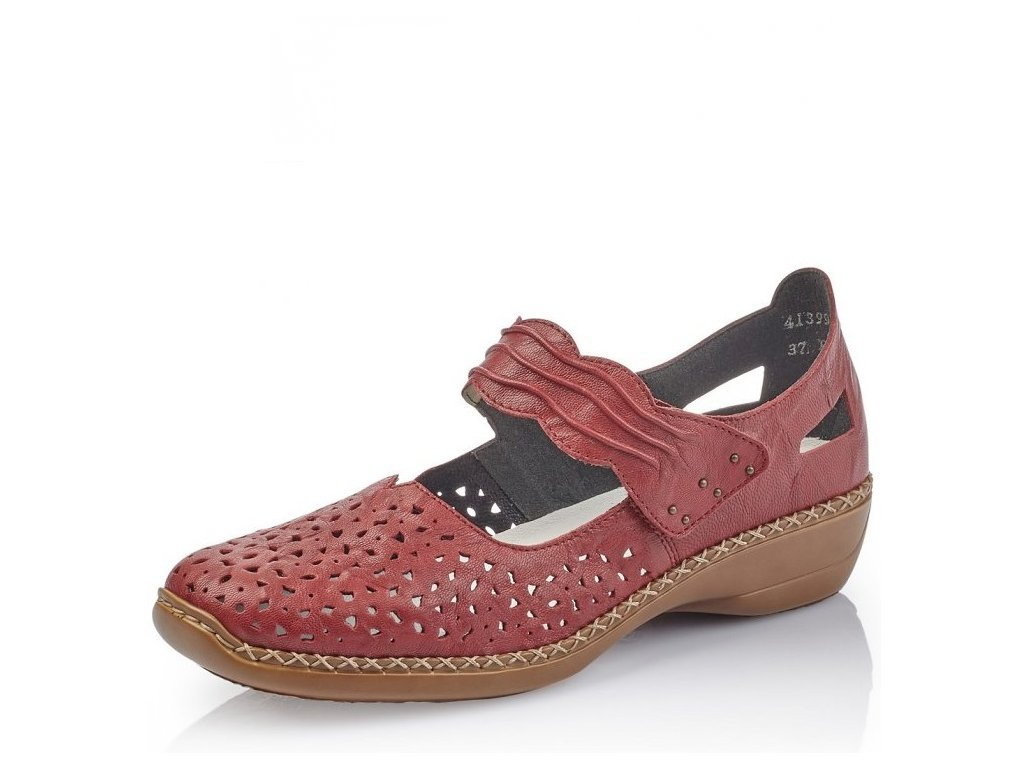 45c4aefa9d Dámská obuv Rieker 41399-35 Red j l9