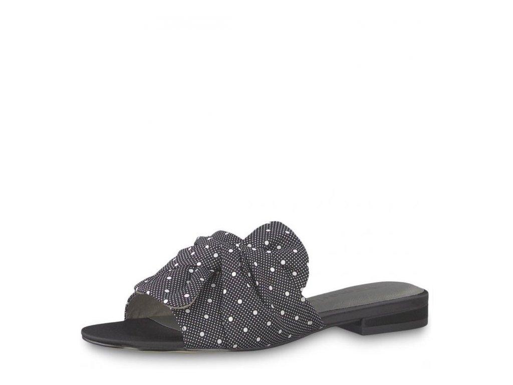 Dámské pantofle Tamaris 1-27132-22 Black j/l9