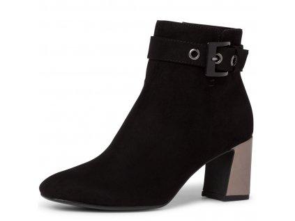 Dámské kotníkové zimní boty Tamaris 1-25037-25 černá pz0