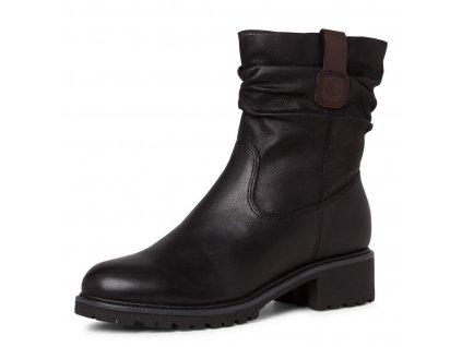 Dámské kotníkové zimní boty Tamaris 1-26441-25 černá pz0