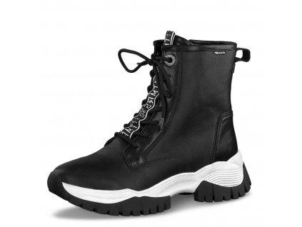 Dámské kotníkové zimní boty 1-26233-25 černá pz0
