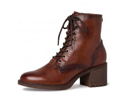 Dámské šněrovací kotníkové boty Tamaris 1-25206-25 hnědá pz0