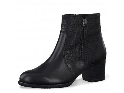 Dámské kotníkové boty Tamaris 1-25326-25 černá pz0