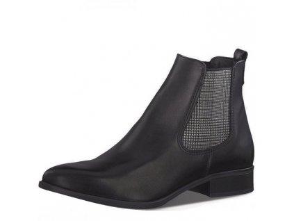 Dámské kotníkové boty Tamaris 1-25388-23 černá p/z9