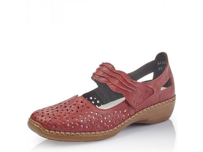Dámská obuv Rieker 41399-35 Red j/l9
