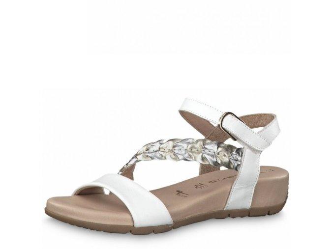 Dámské sandály Tamaris 1-28232-22 white j/l19