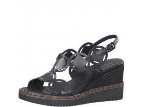 Dámské sandály Tamaris 1-28312-24 černá c20