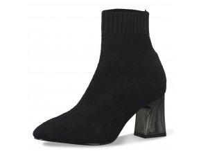 Dámské kotníkové zimní boty Tamaris 1-25987-25 černá pz0