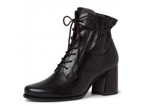 Dámské šněrovací kotníkové boty Tamaris 1-25137-25 černá pz0