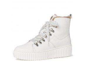 Dámské kotníkové zimní boty 1-26260-25 bílá pz0