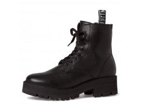 Dámské kotníkové boty Tamaris 1-25456-25 černá pz0