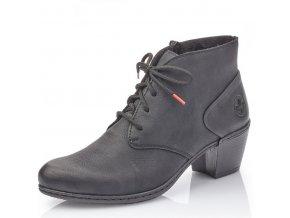 Dámské kotníkové zimní boty Rieker Y2132-00 černá pz0