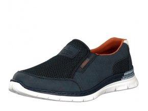 rieker herren slipper blau b4870 14 8
