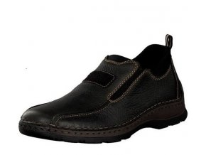 rieker men slipper black 05363 00 7