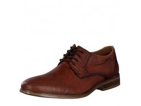 Rieker-elegantní pánské společenské boty se zdobením u šněrovní 11621-25/hnědá