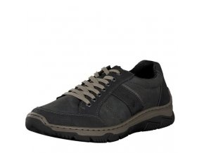 rieker men sneaker black 16921 00 7