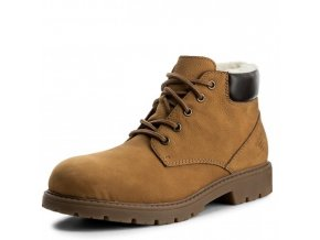 rieker men lace up boot brown f4020 24 8