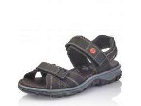 Dámské sandály Rieker 68851-00 Black j/l9