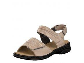 Dámské sandály Rieker 64560-42 Beige j/l9