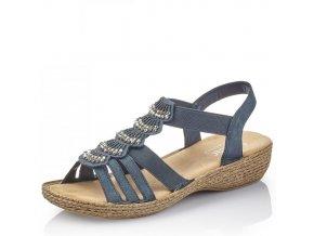 Dámské sandály Rieker 65869-14 Blue j/l9