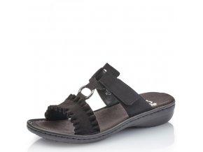 Dámská obuv Rieker 608k9-01 Schwarz j/l 9