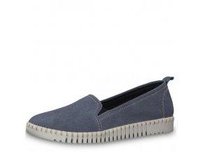Dámské polobotky 1-24625-22 jeans j/l9