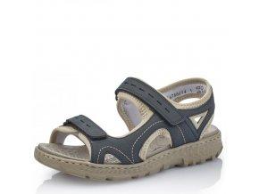 Dámské sandály Rieker 67866-14 Blue j/l9