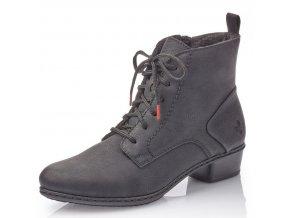 Dámské kotníkové zimní boty Rieker Y07C2-01 černá p/z9