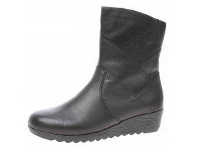 Dámské zimní boty Rieker X2484-00 černá