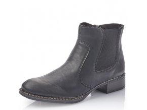 Dámské kotníkové zimní boty Rieker 73481-00 černá pz0