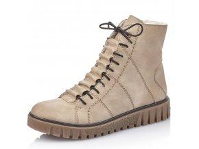 Dámské kotníkové zimní boty Rieker Y3420-60 béžová p/z9