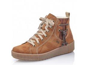 Dámské kotníkové zimní boty Rieker Y6423-23 hnědá p/z9