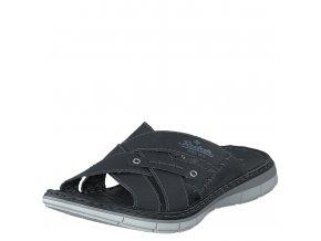 Pánské pantofle Rieker 25199-00 černá jl9