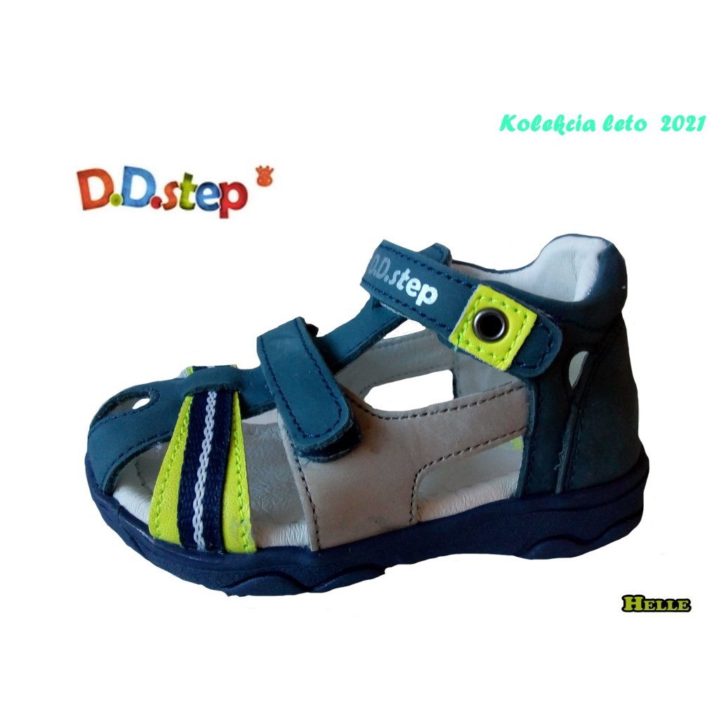 D.D.Step 021-AC64-826 detská letná obuv