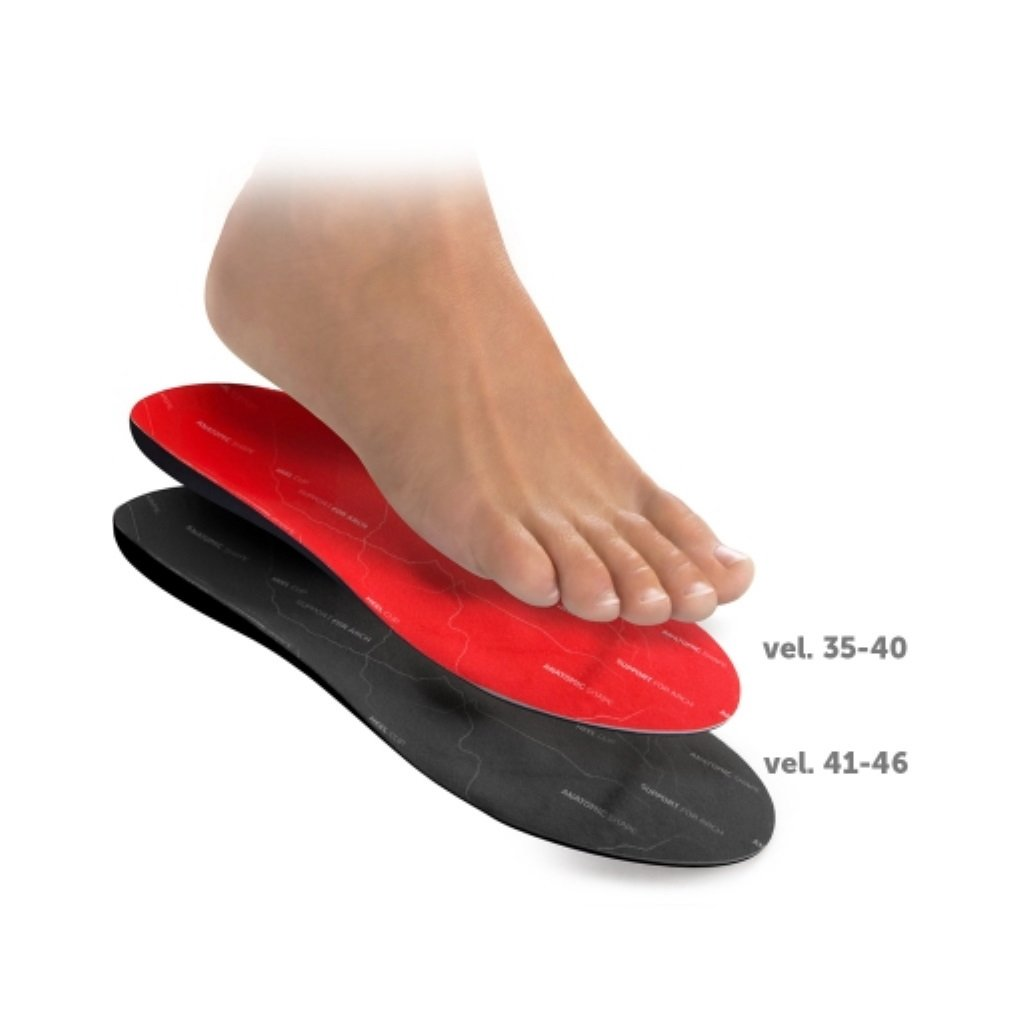 SV005 vložky ortopedické s pätným lôžkom