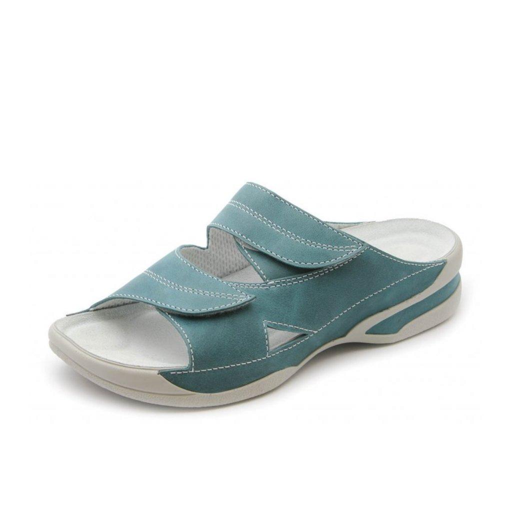 6778ab4542e2 Medistyle LUCY tyrkys - obuv Hellé