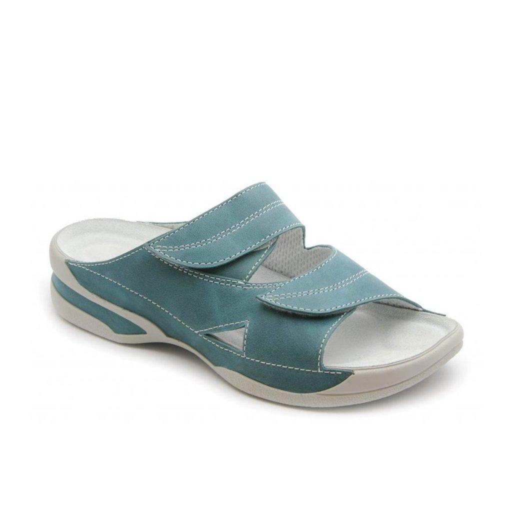 0f4e9592c781 Medistyle LUCY tyrkys - obuv Hellé