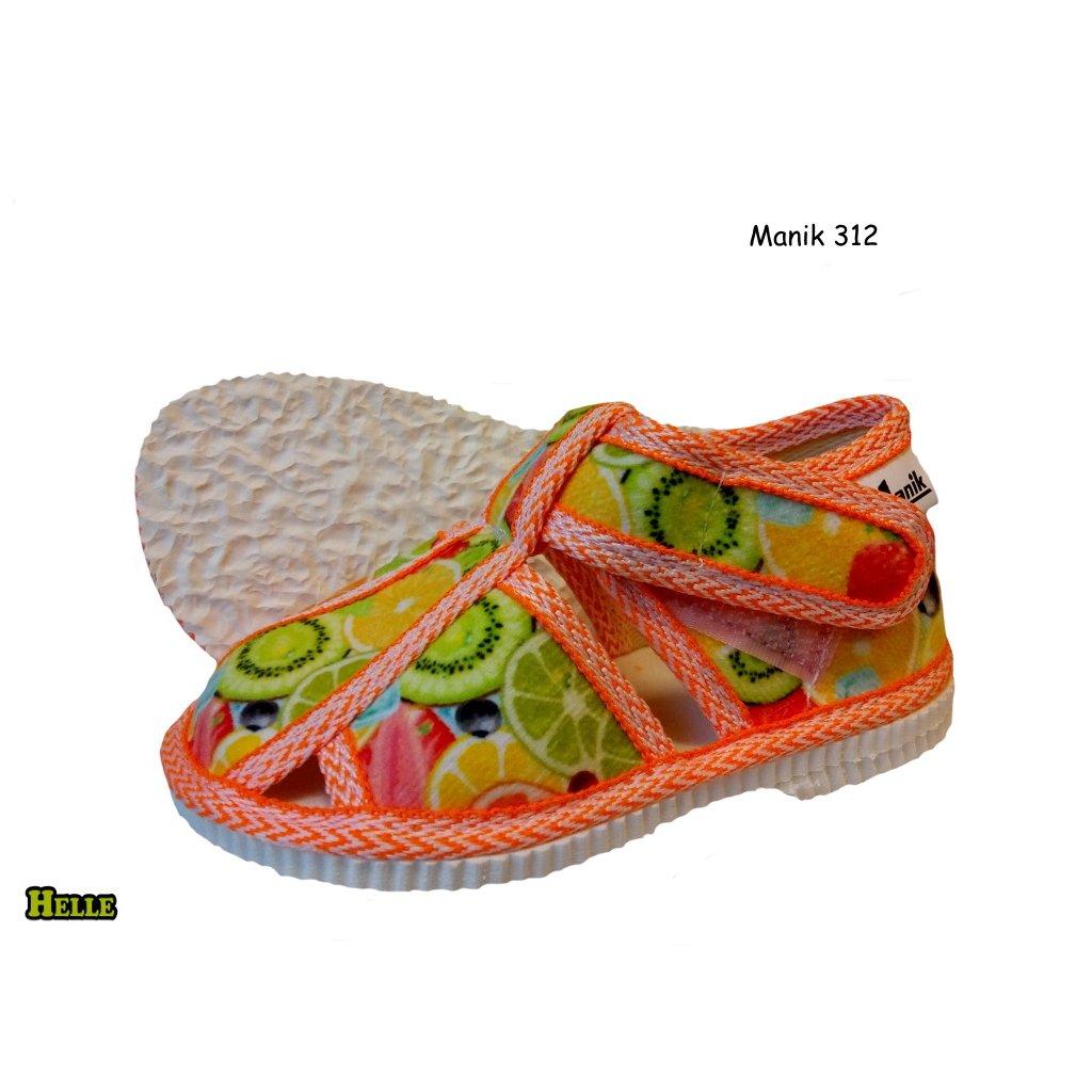 RAK papučky bledo-zelené