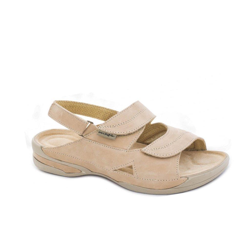 Medistyle LUCY hallux sandál čierna