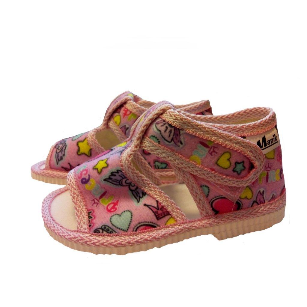 Manik detské papučky 912/3s
