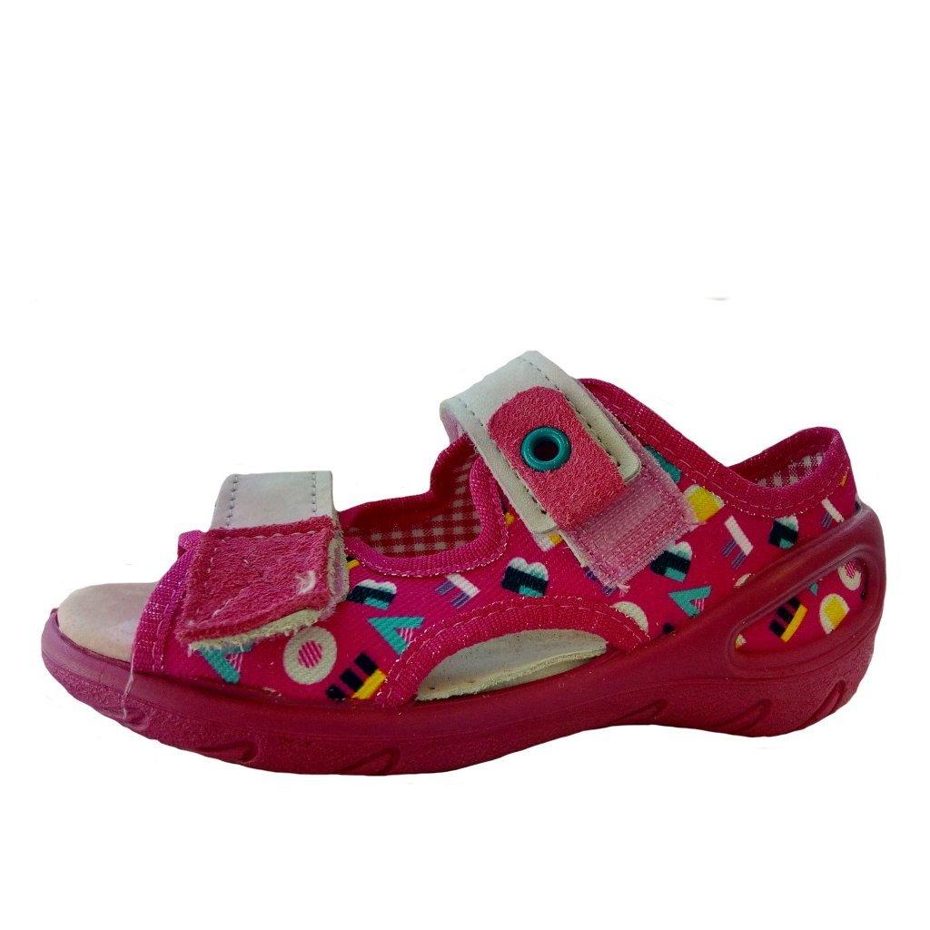 Befado 065P/X153 detská plátená obuv